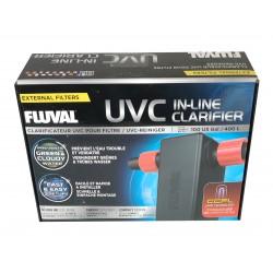 Clarificateur UVC Fluval pour filtre (jusqu'à 100 gallon)