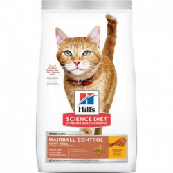 Hill s  Science Diet  Adult Hairball Control Light  7 lbs
