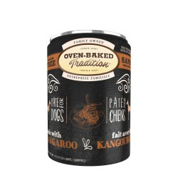 Pâté chien KANGOUROU adulte 354g (12.5 oz) OVEN BAKED TRADITION Canned Food