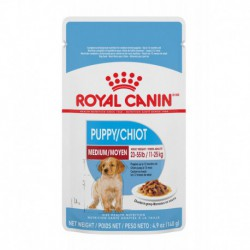Puppy Medium pouch / MOYEN Chiot PochetteCHUNKS IN GRAVY/MOR