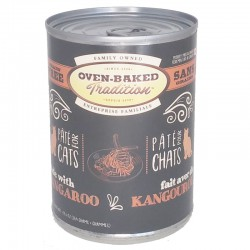 Pâté chat KANGOUROU adulte 354g (12.5 oz) OVEN BAKED TRADITION Canned Food