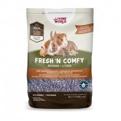 Litière Fresh N comfy confetti, 20L  Litières