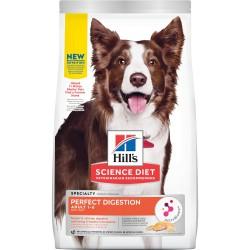 Hills Sicence Diet, Perfect Digestion au saumon pour chiens  Nourritures Sèches