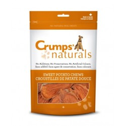 CRUMPS CHIEN BOUCHÉES DE PATATES DOUCES (CROUSTILLES) 5.6oz  Friandises