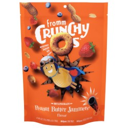 FROMM CRUNCHY OS PEANUT BUTTER JAMMERS 6 OZ  Friandises