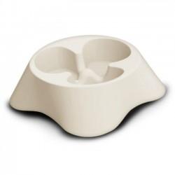 BERGAMO BOL RALENTISSEUR NUVOLA BLANC  Food And Water Bowls