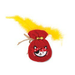 Jouet Pirates Catit Play, poche d or