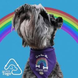 Foulard pour chiens -ca va bien allé- Togo