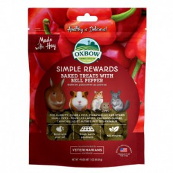 OXBOW - GÂTERIES CUIT POIVRON 2 oz OXBOW Friandises