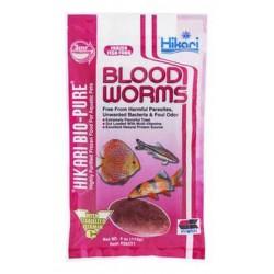 BLOODWORMS 4 OZ.  Nourriture congelées