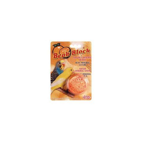 Living World Bloc Minéral Orange/Orange