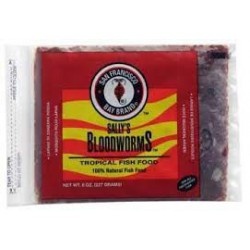BLOODWORMS8.0OZ.FLAT